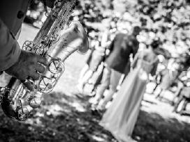 Saksofonas. Saksofono muzika.