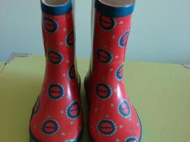 Raudoni guminiai batai / Gullane (thomas) Limited