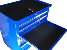 Tvirtas 5-ių stalčių įrankių vežimėlis