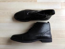 Juodi odiniai batai Lorenzo kairė 46 d. dešinė 44