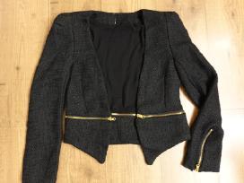 Naujas stilingas juodas švarkelis
