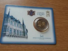 Liuksemburgo monetos kortelėse