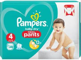Pigiausiai Pampers Baby dry Pants 8 634 85909