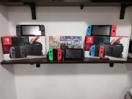 Nintendo Switch Konsolės Su Garantijom