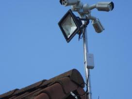 Įrengiame vaizdo stebėjimo kamerų sistemas