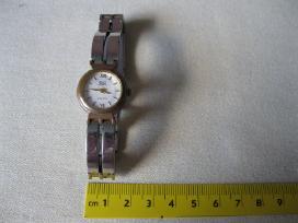 Moteriskas Quartz laikrodis .zr. foto. Veikia- Ok