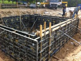 Klojiniai , klojinių nuoma , betonavimo darbai - nuotraukos Nr. 6