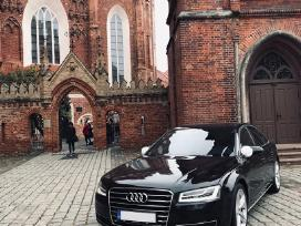 Audi A8 nuoma vestuvems*audi A8 wedding car rent