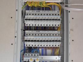 Elektros tinklo įrengimas. Elektrikas Kaunas - nuotraukos Nr. 3