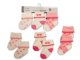 Naujos kojinytės kūdikiams. Komplektukai