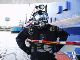 Underwater inspection, work & propeller polishing