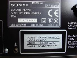 Sony Dvp-s725d Qs CD / dvd grotuvas + pultas