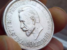 Perku sidabro ir aukso monetas