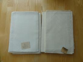 Lietuviškos staltiesės su sevetėlėmis, medžiagos