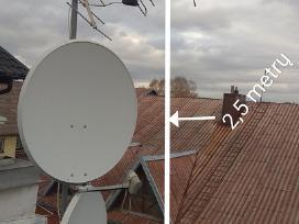 Parduodu palydovinę satelitinę anteną