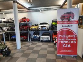 Nauji elektromobiliai vaikams Vilniuje