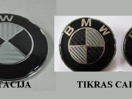 Bmw zenkliukas, emblema ant kapoto ar bagazines - nuotraukos Nr. 5