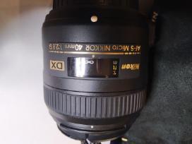 Nikkor 40mm f2,8. Garantija.