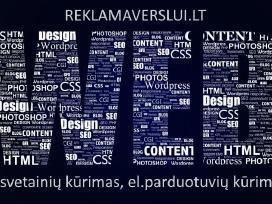 Internetinės svetainės, web sprendimai