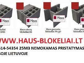 Haus pamatų blokeliai / blokai
