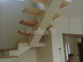 Metaliniai laiptai tureklai konstrukcijos gamyba - nuotraukos Nr. 4