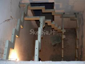 Metaliniai laiptai tureklai konstrukcijos gamyba - nuotraukos Nr. 5