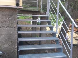 Metaliniai laiptai - nuotraukos Nr. 5