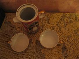 Kompl. porceliano - dviem ..zr. foto..rygos.