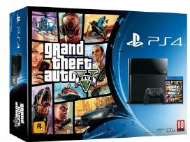 PS4 konsole + Grand Theft Auto 5