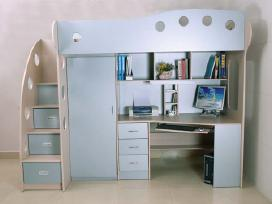 Vaikų kambario baldai - nuotraukos Nr. 2