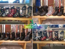 Slidės batai snieglentės Nuoma Servisas Prekyba