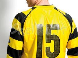 Numeriai ir logotipai ant sportinių drabužių