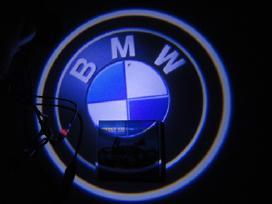 Automobilio Led 3D logotipai