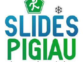 Vaikiški lygumų slidinėjimo komplektai