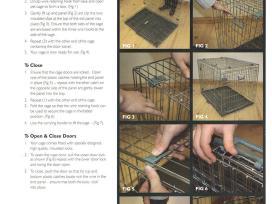 Naujas metalinis narvas šuniui, guoliai šunims - nuotraukos Nr. 3