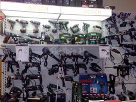 Bosch-parduotuvė ir kiti naudoti prof. įrankiai. - nuotraukos Nr. 3