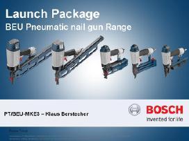 Bosch-parduotuvė ir kiti naudoti prof. įrankiai.