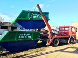 Šiūkšlių konteinerių nuoma, statybinėm atliekom - nuotraukos Nr. 2