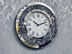Gražus Kristalais Papuoštas Laikrodis Naujas!