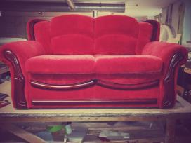 Minkstu baldu restauravimas - nuotraukos Nr. 4