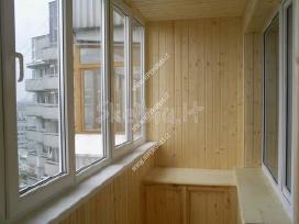 Plastikiniai langai iš įvairiu vokiskų profilių - nuotraukos Nr. 3