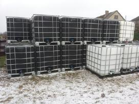 Ibc 1000l-600l konteineriai, talpos ir kita tara