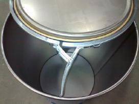 Bačkos, metalinės statinės