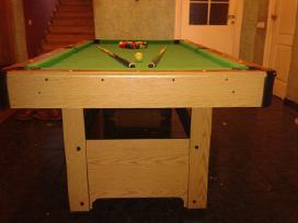 Naujas bilijardo (pulo) stalas su inventoriumi - nuotraukos Nr. 4