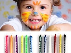 Kreidelės veidui dažyti