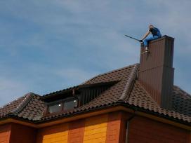 Dengia stogus,stato karkasinius namus ir pavėsines