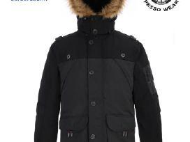 Šilta žieminė striukė su gobtuvu Pes