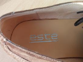 Beveik nauji Este rudi verstos odos itališki batai
