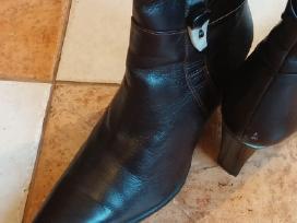 Odiniai šilti žieminiai batai su kailiu