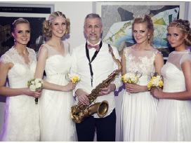 Muzikantas Saksofonistas Aleksandras